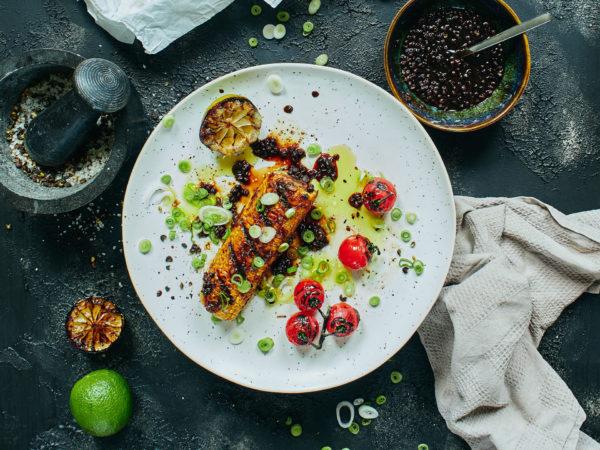 Grill-Gemüse mit Super-Sauce